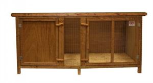 Picture of Everyday Jumbo Single Storey Hutch 161x70x74cm