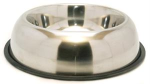 """Picture of Non-slip Stainless Steel Bowl 10"""""""