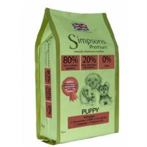 Picture of Simpsons Puppy 80/20 Fish & Chicken 2kg
