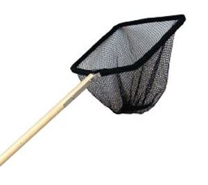 """Picture of Supa Pond Net 12x10"""" With 48"""" Wooden Handle"""