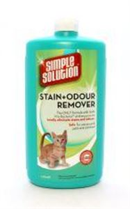 Picture of Simple Solution Cat Stain & Odour Remover 1ltr