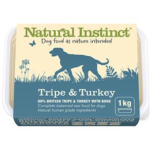 Natural Instinct Natural Tripe & Turkey 1kg