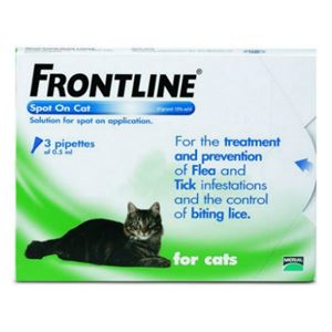 Picture of Frontline Cat Spot On x 3 Pipettes