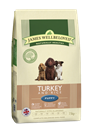 Picture of James Wellbeloved Turkey & Rice Puppy 15kg