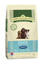 Picture of James Wellbeloved Duck & Rice Puppy 15kg