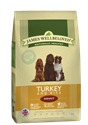 Picture of James Wellbeloved Turkey & Rice Adult 2kg