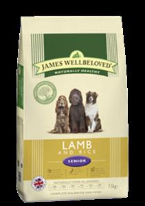 Picture of James Wellbeloved Lamb & Rice Senior 2kg