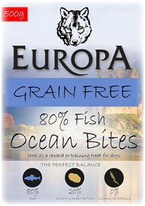 Picture of Europa Grain Free Ocean Bites 500g