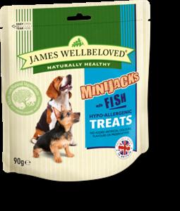 Picture of James Wellbeloved Minijacks Fish & Rice 90g