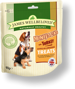 Picture of James Wellbeloved Minijacks Turkey 90g