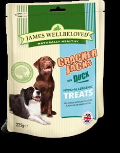 Picture of James Wellbeloved Crackerjacks Duck 225g