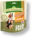 Picture of James Wellbeloved Minijacks Grain Free Turkey 90g