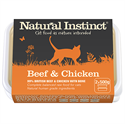 Picture of Natural Instinct Beef & Chicken Cat 2 x 500g