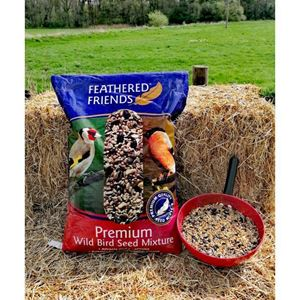 Picture of Feathered Friends Premium Wild bird Seed 12.75kg