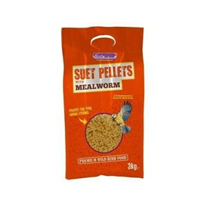 Picture of Suet To Go Suet Pellets Mealworm 3kg